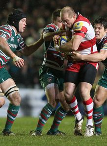 Mike Tindall Gloucester v Leicester AVP 2012