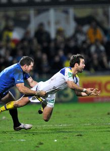 Morgan Parra C Clermont Auvergne vs Leinster