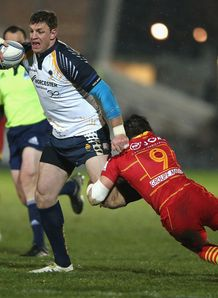 Nikki Walker Worcester Warriors 2012