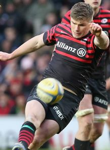 Owen Farrell Saracens v Northampton AVP 2012