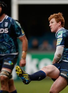 Rhys Patchell kicking Cardiff Blues Heineken Cup