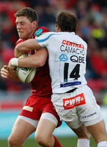 Rhys Priestland Gonzalo Camacho