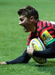 Richard Wigglesworth try Saracens v Gloucester