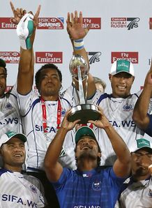 Samoa Dubai Sevens champs 2012