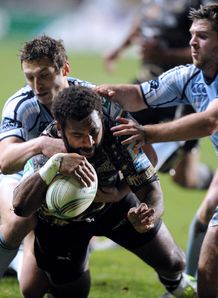 Timoci Nagusa Montpellier v Cardiff blues