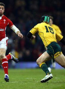 Wales v Australia Alex Cuthbert