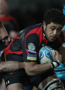 Toby Faletau Newport Gwent Dragons