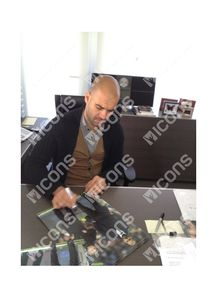 Guardiola Signed Photo