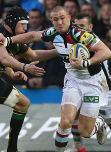 mike brown harlequins v northampton