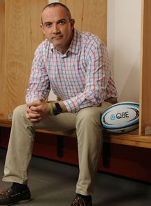 Conor OShea Harlequins QBE promotion 2012
