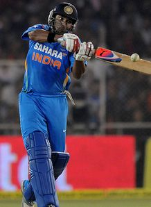 Yuvraj Singh made 72 as India won the second T20I against Pakistan
