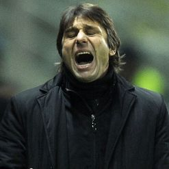 Conte: Serving touchline ban again