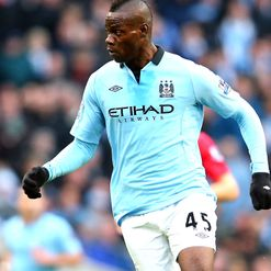 Balotelli: Ruled out