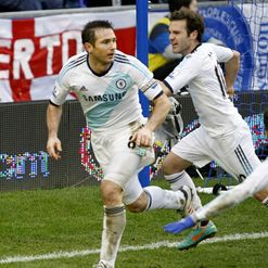 Lampard: Bagged a brace