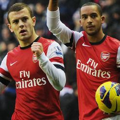 Wilshere &amp; Walcott: Gunners