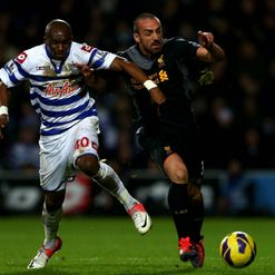 Enrique: Fending off Stephane Mbia