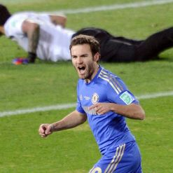 Mata: Delighted with win