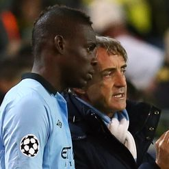 Mancini: Patient with Balotelli