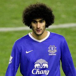 Fellaini: Lost his temper