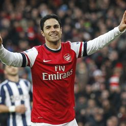 Arteta: On the spot, twice