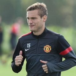 Vidic: Back in training
