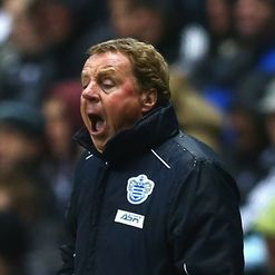 Redknapp: Not a happy camper