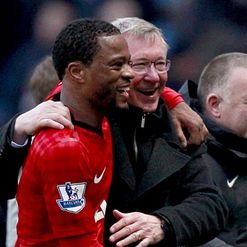 Evra: Still tight with Ferguson