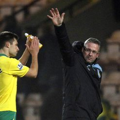 Paul Lambert: Delighted with win at Norwich
