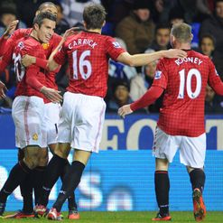 Van Persie: Won derby for United