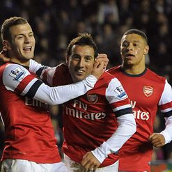 Cazorla: Hat-trick hero