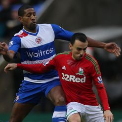 Mikele Leigertwood and Leon Britton