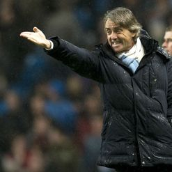 Mancini: League title out of reach?