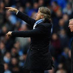 Mancini: Frustrated at poor defence