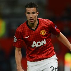 Van Persie: A big hit at Old Trafford