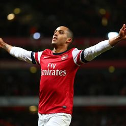Walcott: In rampant form