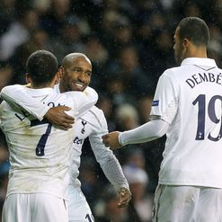 Defoe: Scored Spurs' third