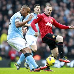 Roberto Mancini doesn't expect to see Wayne Rooney playing for Manchester City.
