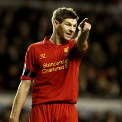 Gerrard: Leading the line