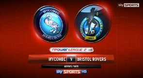 Wycombe 2-0 Bristol Rovers