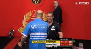 Winstanley's 9-Dart finish