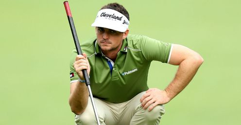 Keegan Bradley, one of golf's most skilled belly putters