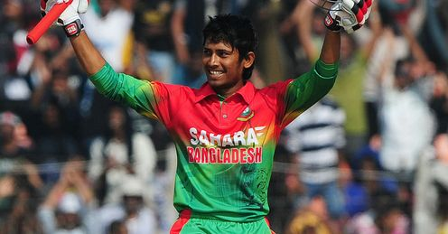 Anamul Haque Bangladesh century v West Indies
