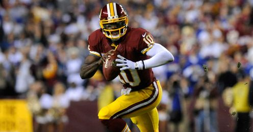 Robert Griffin III: The reason why Washington are the league's number one rushers