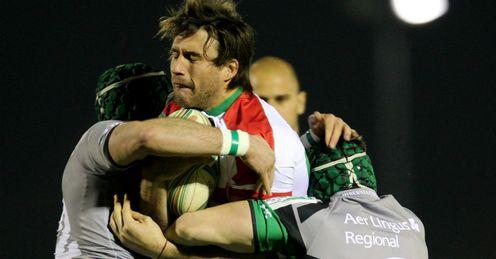 Charles Gimenez Biarritz v Connacht Heineken Cup Pool Three Galway Sportsground