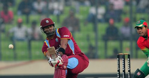 Keiron Pollard West Indies v Bangladesh 5th ODI Dhaka