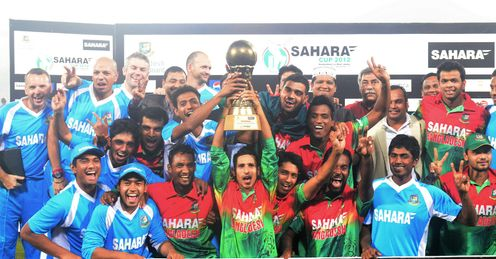 Bangladesh celebrate 3-2 ODI series win over West Indies after two-wicket win in 5th ODI