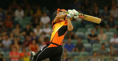 Nathan Coulter-Nile Perth Scorchers v Adelaide Strikers BBL WACA