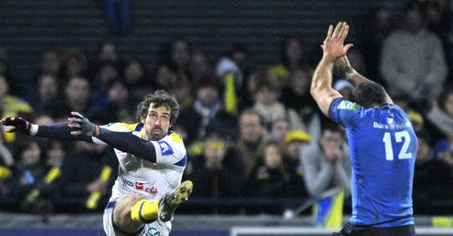 Brock James Clermont Auvergne v Leinster Heineken Cup Pool 5 Stade Marcel Michelin