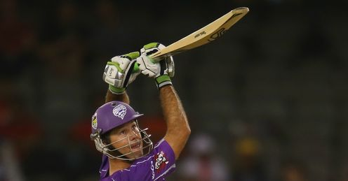 Ricky Ponting Hobart Hurricanes v Melbourne Renegades Big Bash League Docklands Stadium