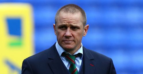 Brian Smith London Irish director of rugby v Leicester Tigers Aviva Premiership Madejski Stadium